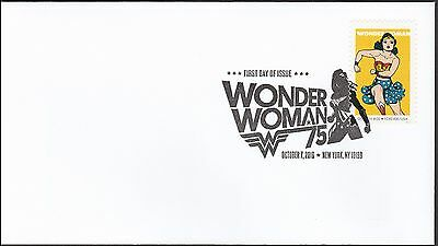 US 5152 Wonder Woman Golden Age FDC 2016