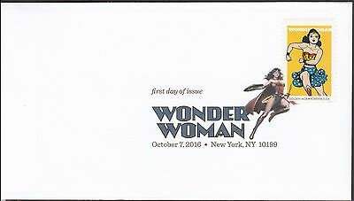 US 5152 Wonder Woman Golden Age DCP FDC 2016