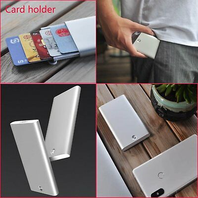 For Xiaomi MIIIW Card Case Automatic Pop Up Box Cover Portable Card Holder 2018