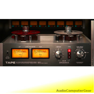 Softube TAPE Analog tape machine Audio Software Effects Plug-in NEW