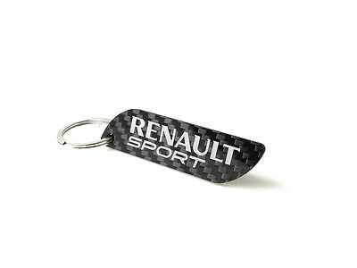 Genuine Carbon fiber key ring Renault sport RS Clio 172 182 197 Megane RS 225