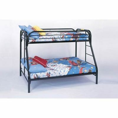 Hawthorne Ave Bunk Bed - Twin / Full Size / Black Metal - 199101-1937738-251