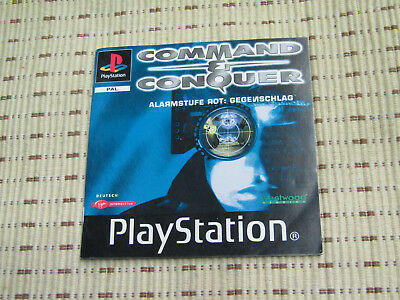 Command & Conquer Alarmstufe Rot Gegenschlag Spielanleitung Playstation 1 PS1
