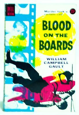 William Campbell Gault / Blood on the Boards 835 1953 Reprinted
