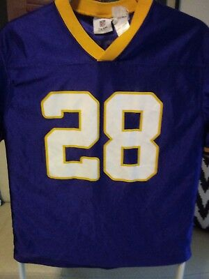 YOUTH Adrian Peterson  28 Minnesota Vikings NFL Jersey Size Y XL 14 16 aeb59a10c
