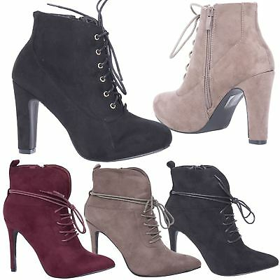 df545a8b87661 LADIES CHUNKY CLEATED Platform Sole Womens Retro Goth Combat Lace Up ...