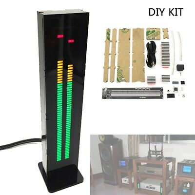 AS60 Dual Channel LED Digital Musik Spektrum Audio Schallpegelanzeige DIY Kit Q6