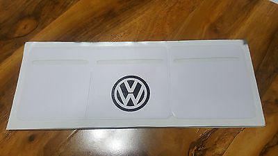 Car Van Road Tax, Insurance, NCT Disc Holder Black/ White For VW