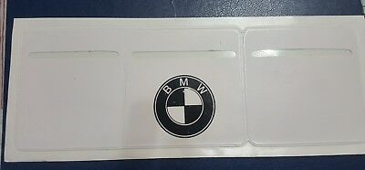 Car Van Road Tax,  Insurance, NCT Disc Holder White New Wallet Permit For BMW