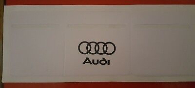 Car Van Road Tax, Insurance, NCT Disc Holder New Wallet Permit white For Audi
