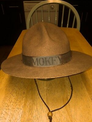 Vintage Smokey The Bear Childs Hat