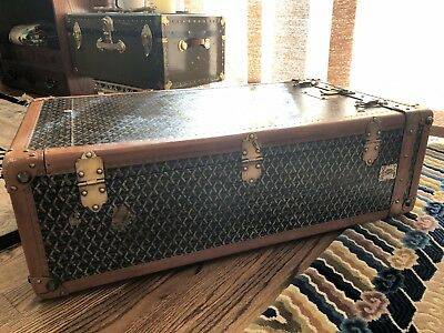 Vintage Goyard Monogram Trunk - Great Gift For Someone Who Has Everything!