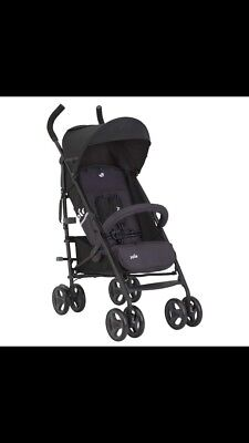 JOIE NITRO LX STROLLER/BUGGY INCLUDES RAINCOVER Front Bar Missing