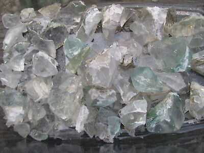 MONSTER WHOLESALE LOT of VOLCANIC Monatomic Andara Crystals clear& tinted