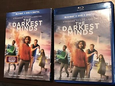 The Darkest Minds Blu-ray Disc &Case ONLY 2018 Never Used *No Dvd or Digital HD*