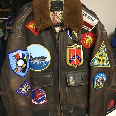 "As seen on Movie TOP GUN Pete ""Maverick"" Mitchell G-1 JACKET 17-PATCH Set"
