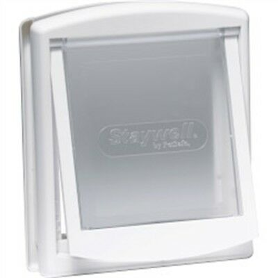 White Pet Door Cat Flap - Petsafe Original 2 Way Small Small Dogs Care