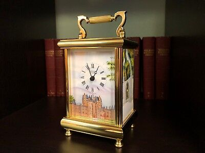 KINGSLEY ENAMELS Carriage Clock (1 of 15)  - Hand Painted Enamels by A.J Rose