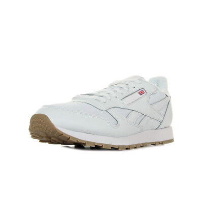 Taille Reebok Classic Blanc Chaussures Unisexe Estil Baskets Leather 7gbfvI6Yy