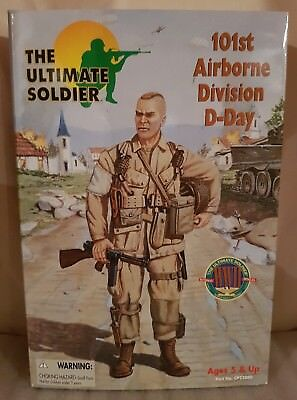 The Ultimate Soldier  WW2 U.S. 101st Airborne Division D-DAY 1:6 / 12""