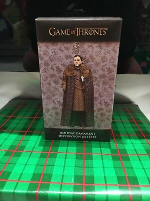 Kurt Adler Game of Thrones John Snow Christmas Ornament
