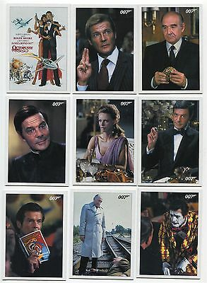 2017 James Bond Archives Final Edition Octopussy 32 card throwback set