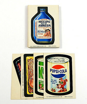1974 Topps Wacky Packages 10th Series Set (30) Nm Pupsi-Cola