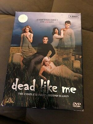 Dead Like Me: The Complete Series (DVD 9-Disc Set Full Screen)