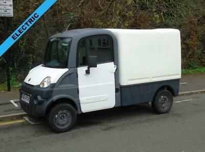 2011 61 Aixam Mega 600 Automatic Electric Box Van (Direct Council)