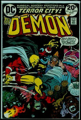 DC Comics The DEMON #12 Kirby Art VG+ 4.5