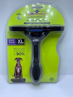 FURminator deShedding Tool for Dogs Short Hair XL Over 90 Pounds NEW Authentic