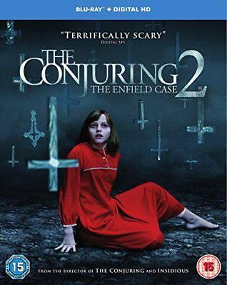 The Conjuring 2 [Includes Digital Download] [Blu-ray] [2016] [Region Free], DVD,