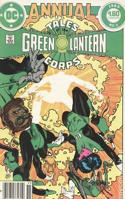 Tales of the Green Lantern Corps Annual Canadian Edition #1 1985 VG- 3.5