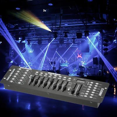 Lixada 192 CH DMX512 Controller Console for Stage Light Laser Operator DJ X7S2