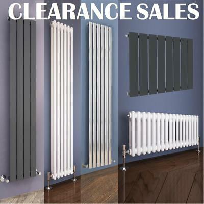 Vertical Horizontal Designer Radiator Flat Panel Oval Column Uk Rads ALL SIZE