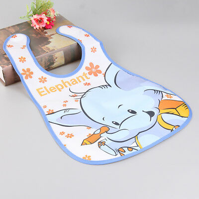 Baby Cute Aprons Kids Feeding Accessories Cartoon EVA Waterproof Feeding Bibs