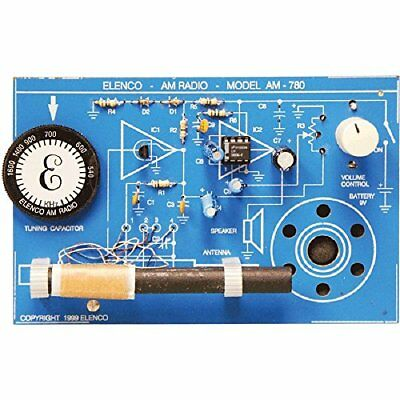 ❤ Toy Kids Building Elenco Practical Soldering Project Kit Xmas Gift Strong ❤
