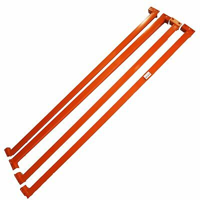 Warehouse Storage Shelve Pallet Racking Support Side Bar 2188mm Long 1 Piece