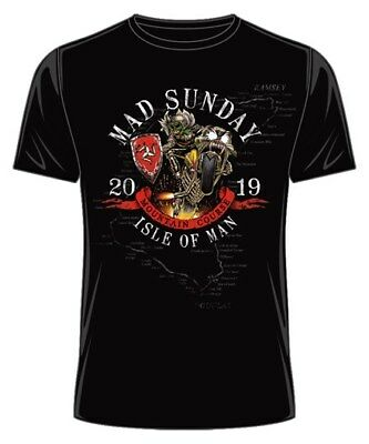 2019 Official Isle of Man TT Races Mad Sunday T'Shirt