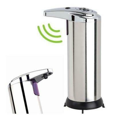 Automatic Soap Liquid Dispenser Stainless Steel Hands Free IR Sensor Touchles TH