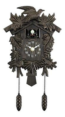 Acctim Hamburg Antique Traditional Classic Cuckoo Bronze Wall Clock UK