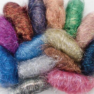 Embellishment Village Angelina Straight Fibers .1oz 14/pkg-metallic Jelly Beans