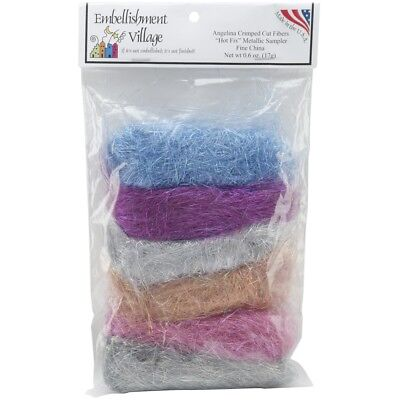 Embellishment Village Angelian Straight Fibers .1oz 6/pkg-fine China