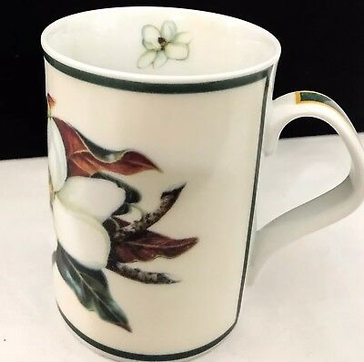 Magnolia Mug By Maria Ryan Inhesion Giftware Porcelain Green Fl Coffee Cup