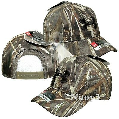 fd439a721f3 NWT MENS UNDER Armour UA Camo Mossy Oak Real Tree Break-Up Hunting ...