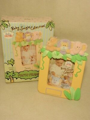 Baby Gund Jungle Collection Miniature Photo Picture Frame *As-Is*