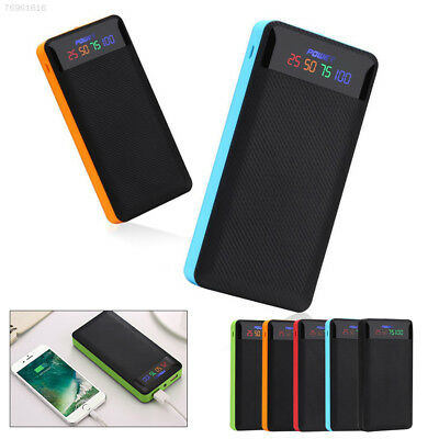 52B8 Portable Dual USB Port Power Bank 2x606090 Polymer Charger Case For Mobilep