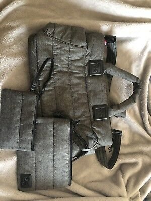 Cipu Diaper Bag Gray With Extras! NWOT!!