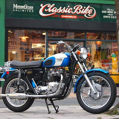 1972 Triumph Tr6r Tiger 650 Classic Genuine Coventry Bike With