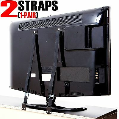 TV & Furniture Anti Tip Baby Safety Straps, Child Proofing Wall Anchor for..